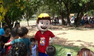 La fête des enfants deguisé