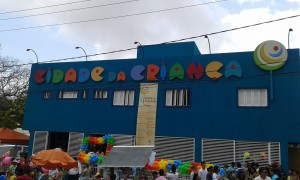 La cité des enfants est située dans le quartier Tirol. Elle est ouverte à toute la communauté de Natal gratuitement. (Crédit photo: Fabio Santana).