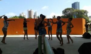 La présentation du groupe du ballet durant la fête des enfants à Natal. (Crédit photo: Fabio Santana).