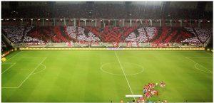 Le 2 octobre, les supporters de Natal ont montré sa force et son organisation au stade Arena des Dunas