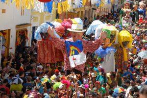 La fête  à Olinda (état de Pernambuco) durant le carnaval. (Crédit photo: Mairie de Olinda Flickr)