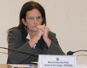 Graça Fostaer, l'ancienne présidente de l'entreprise PETROBRAS, démissionné après les scandales de corruption dans l'entreprise. (Crédit photo: Roosewelt Pinheiro/ABr).